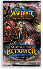 Booster Pack x3 factory sealed possible loot? WOW Servants of the Betrayer