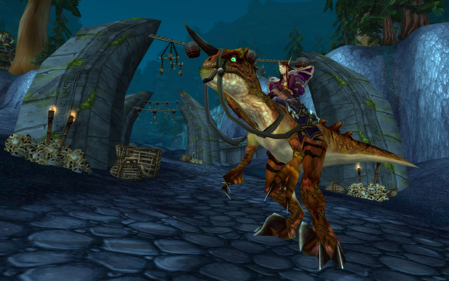 WoW TCG Loot: Savage Raptor