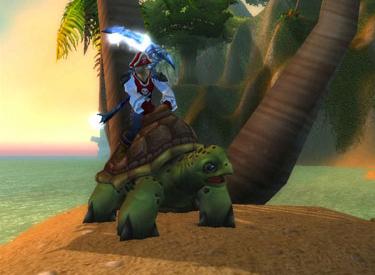 WoW TCG Loot: Riding Turtle