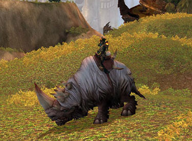 WoW TCG Loot: Wooly White Rhino